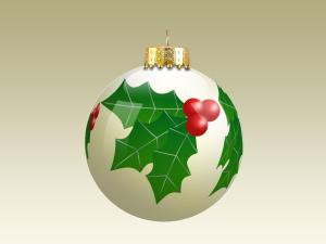 ornament_holly